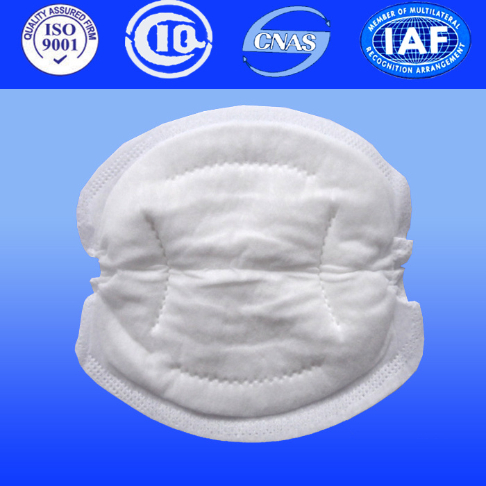 Disposable Mother Breast Pads with Breathable Non-Woven Backsheet