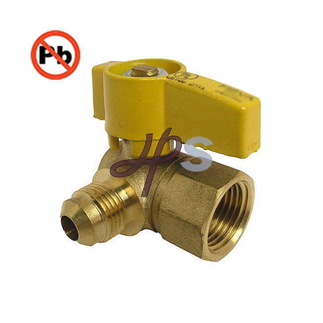 Lead Free Material Brass Gas Ball Valve for USA Market
