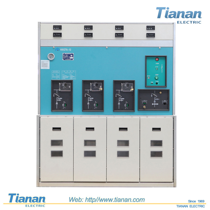 High Voltage 10~24kv Sf6 Gas Insulated Switchgear Rum Switchgear (GIS) Ring Main Unit