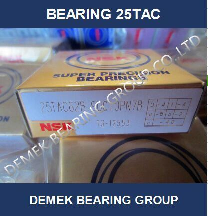 NSK High Precision Angular Conatact Thrust Ball Bearing 25tac 62b9uc10pn7b