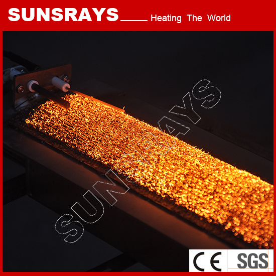 Infrared Catalytic Heater Metal Fiber Burner for Roasted Coffee