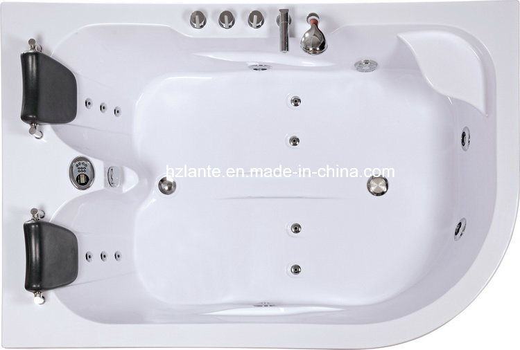 Cheap Double Person Massage Whirlpool Bathtub (TLP-631)