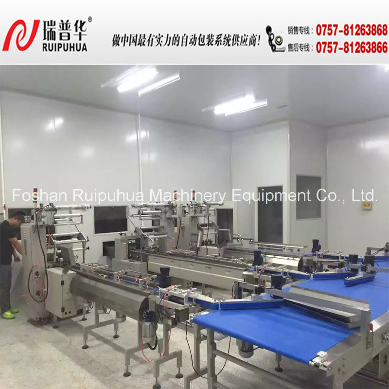 Cup Cake Multi-Line Automatic Package Machine