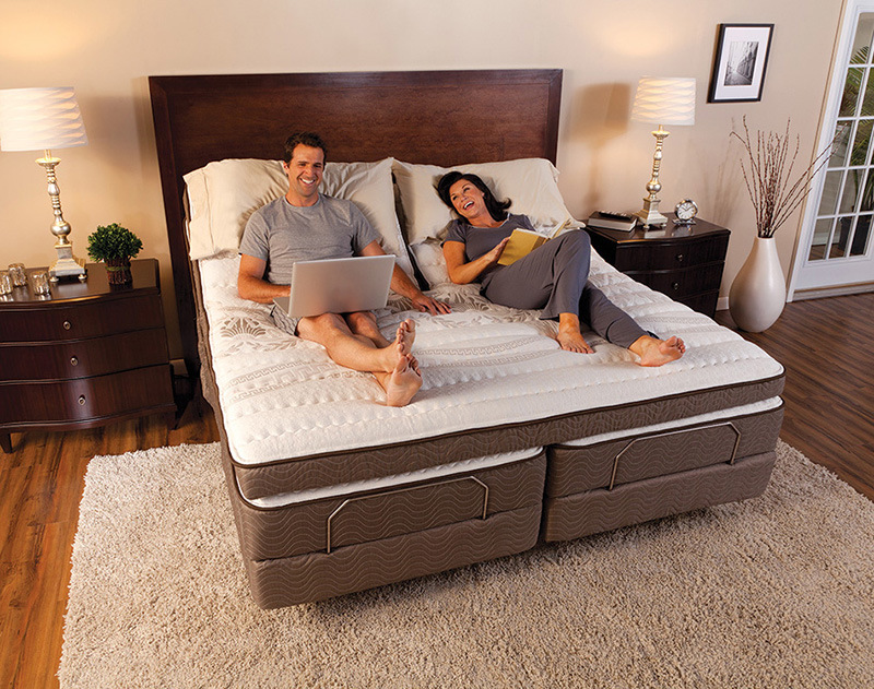 King Size Split Adjustable Bed