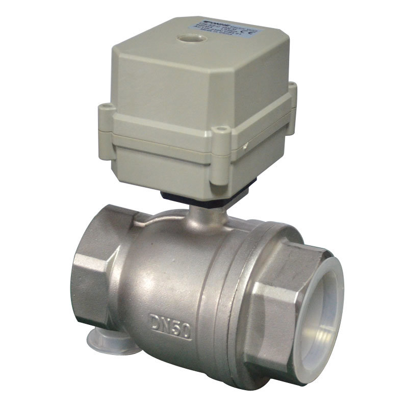 """2"""" Electric Control Stainless Steel Water Ball Valve Motorized Ball Valve (A100-T50-S2-C)"""
