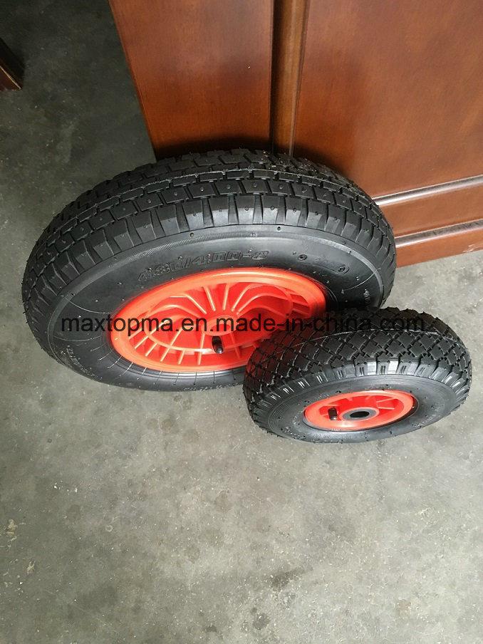 4.00-8 Maxtop Inflatable Rubber Wheel / Wheelbarrow Wheel