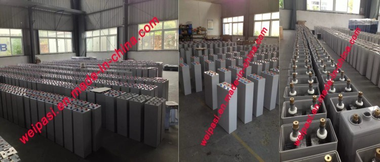 2V3000AH GEL Tubular plate Battery Solar Power Battery 5 Years Warranty, >20 years Life OPzV Battery