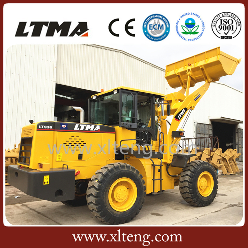 Ltma New 3 Ton Wheel Loader Price