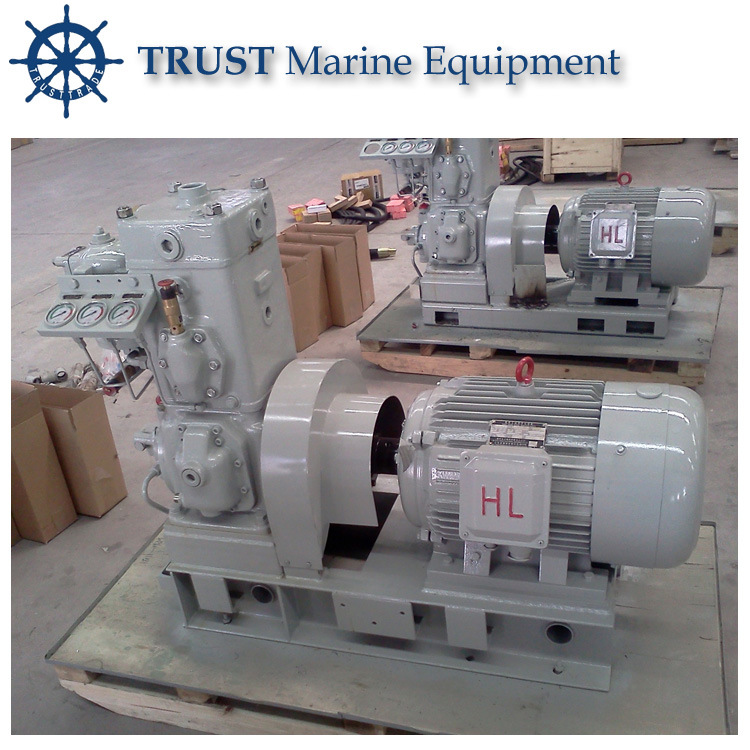 Marine 20HP Diesel Engine Driven Piston Air Compressor