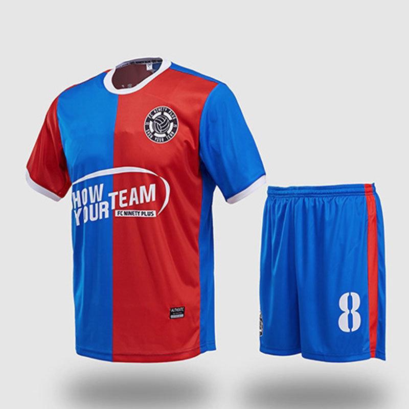 Dri- Fit Soccer Uniform Jersey with Custom Design