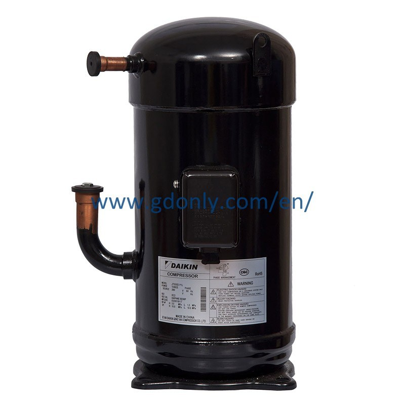 R407c 380V 40000BTU Daikin AC Scroll Compressor