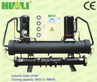 10HP Industrial Water Chiller, Water Cooled Chiller Wtih Water Tank and Water Pum