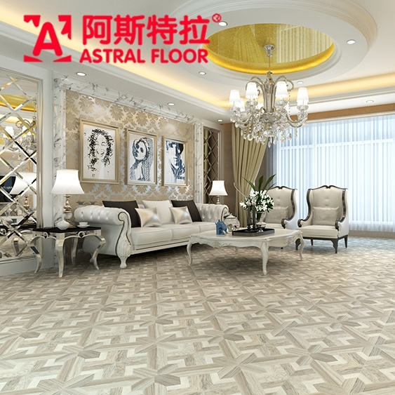 Hotsale 12mm Parquet Laminate Flooring (AS6908)