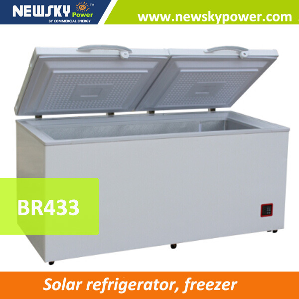 Solar Powered Refrigerator Fridge Freezer 400L