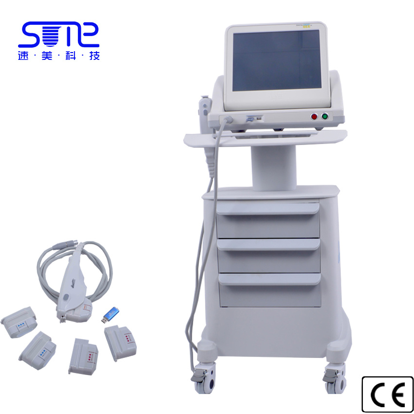 Hifu Portable Focused Ultrasound Beauty Machine for Skin Tightening Face Lifting Hifu