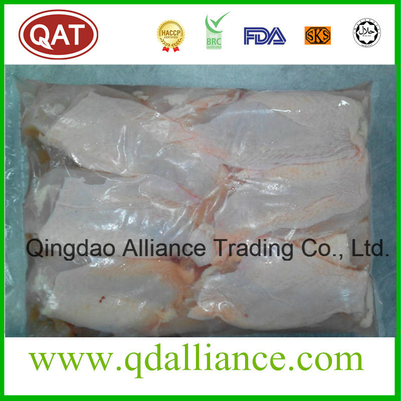 Frozen Halal Chicken Breast Meat with Skin on