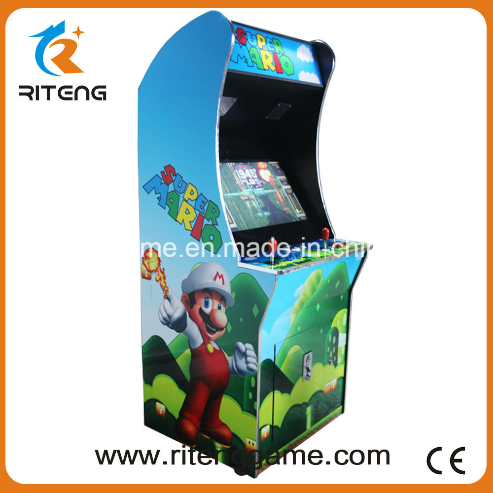 Super Mario 26 Inch Coin Pusher Arcade Machine with Free Joysticks/Buttons