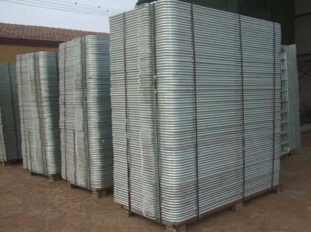 Factory Hot Dipped Galvanized Barricade Fence