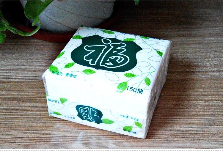 Customer Plastic Packaging Soft Pack Mini Facial Tissue Paper