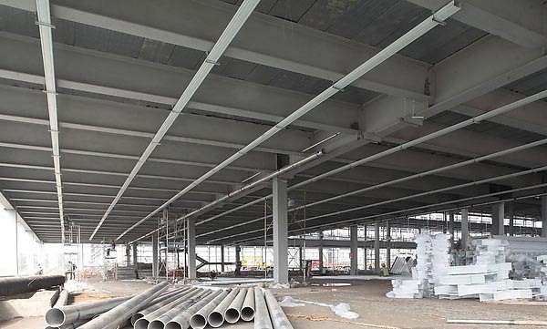 China hollow structural round steel pipe