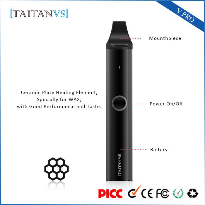 Shenzhen Supplier Wax Herbal Dry Herb Vaporizer Smoking