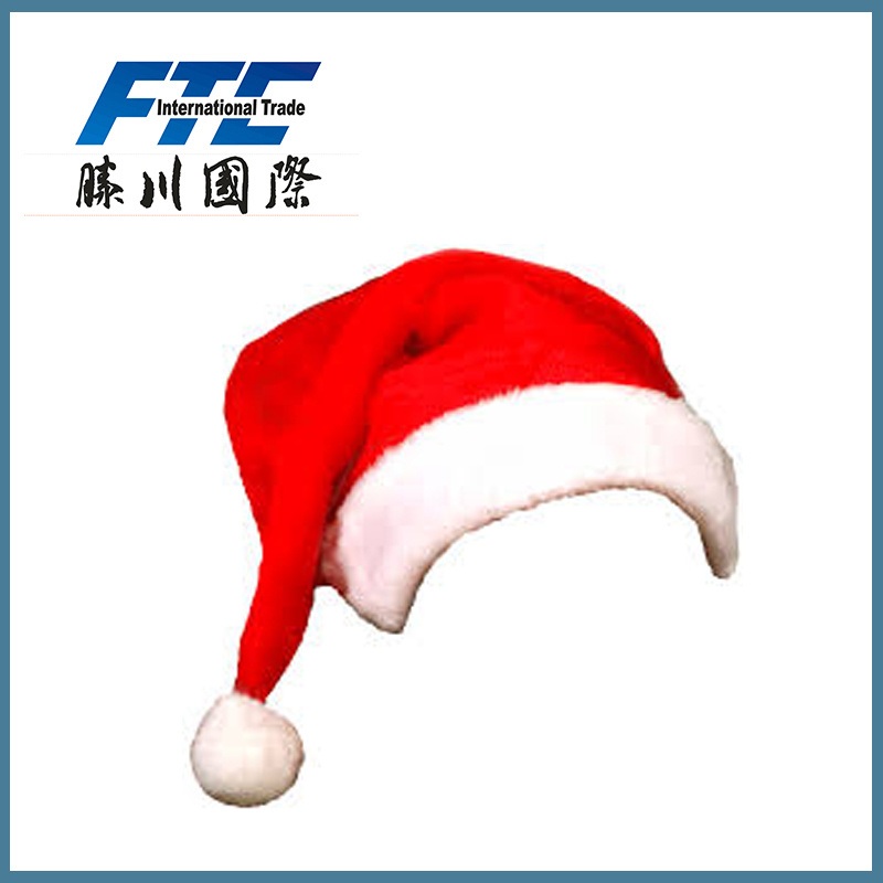 Wholesale Santa Christmas Hat for Promotion