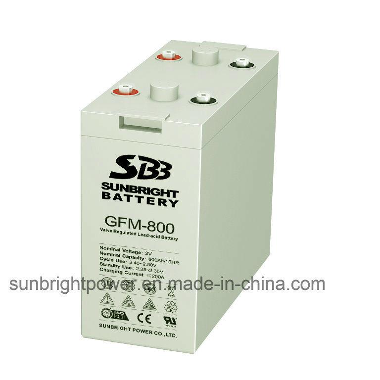Deep Cycle 2V800ah Maintenance Free Solar Power Gel Battery