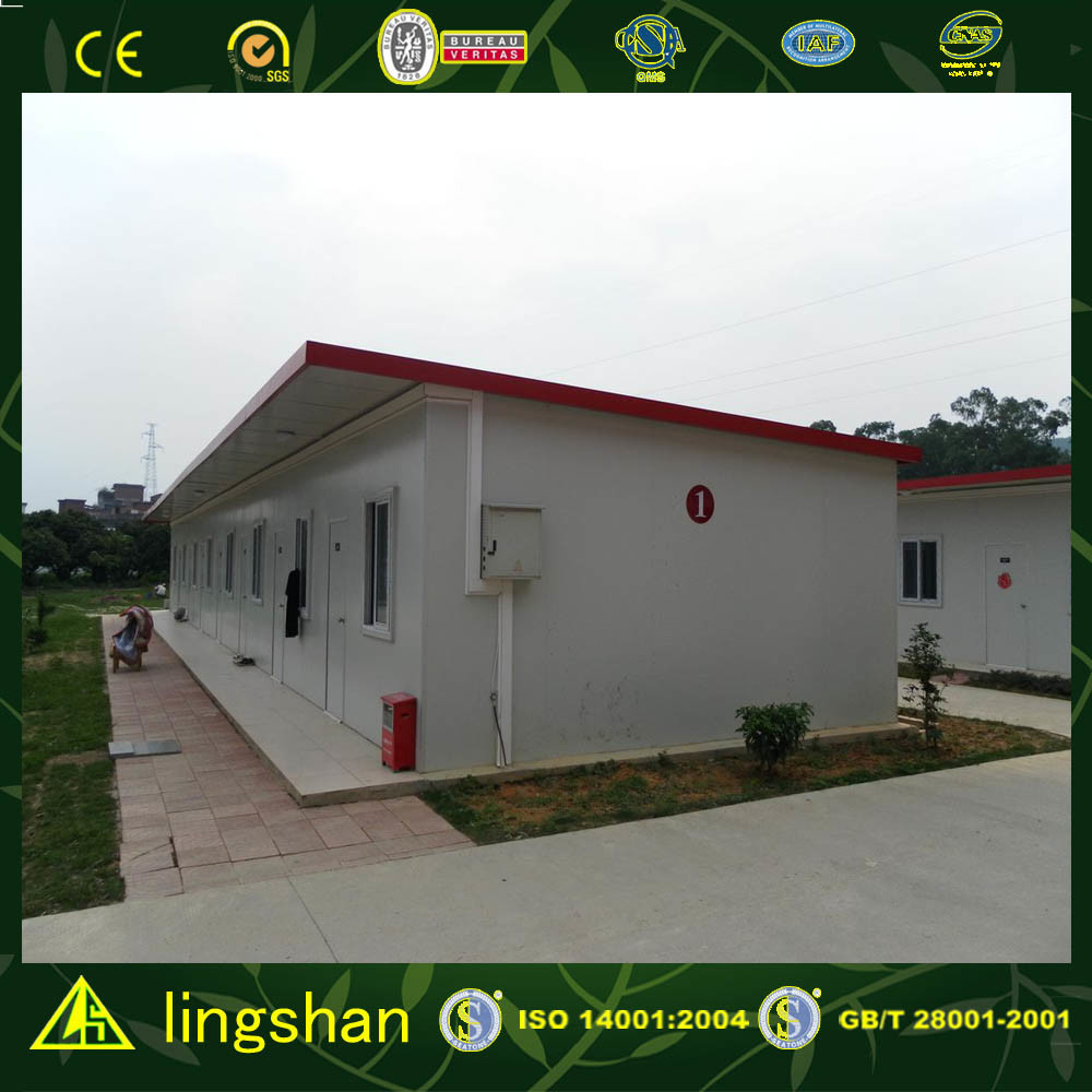 ISO Certificated Prefabricated House (LS-MC-006)