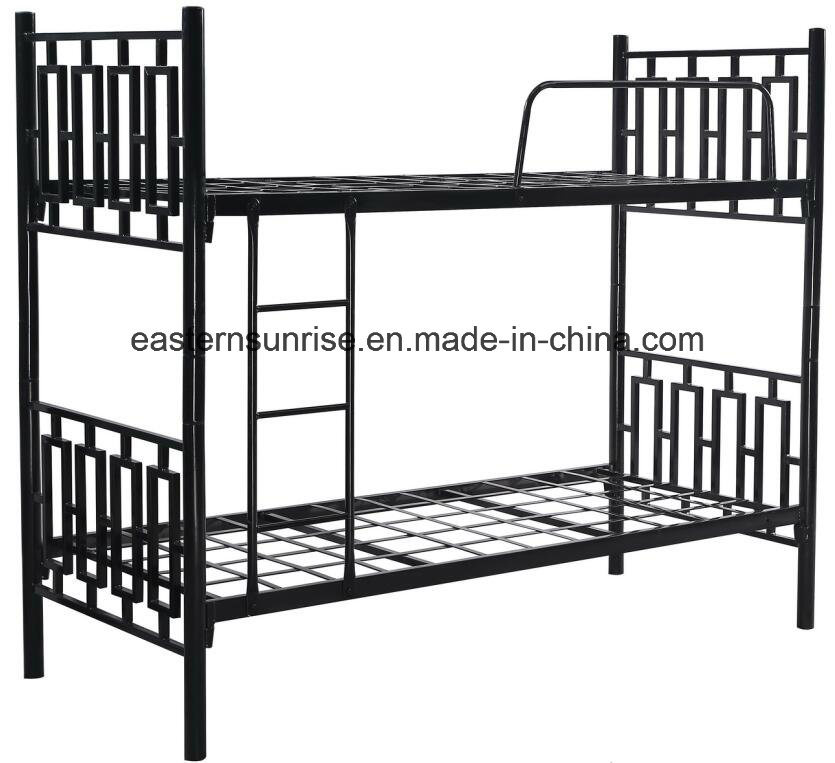 Latest Design Cheap Metal/Steel/Iron Double Bed