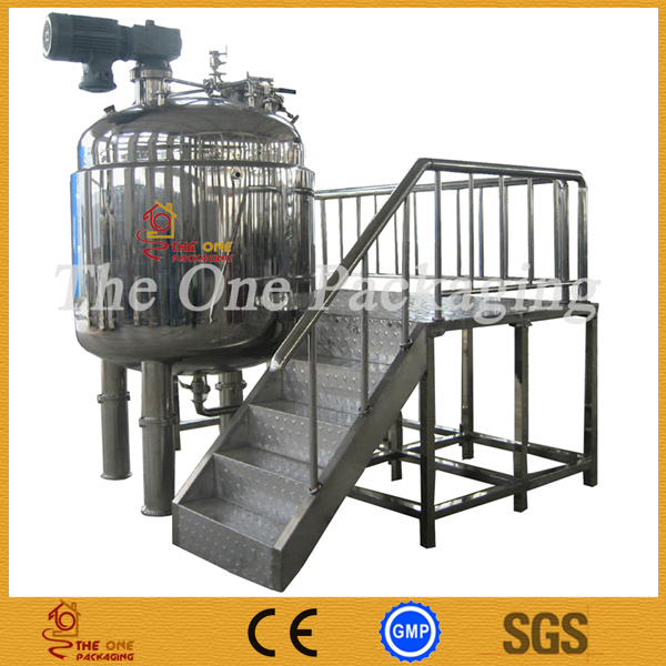 Mixing Tank/Mixing Vessel Reactor, Boiler Tomt-2000LV