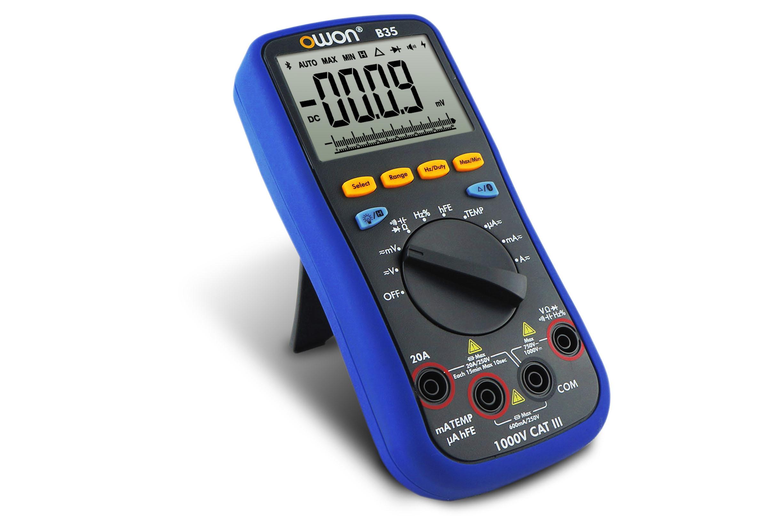 OWON Truerms Available Bluetooth Smart Digital Multimeter (B35T)