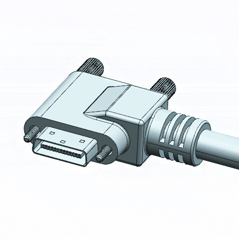 SDR 26p up Angle to Mdr 26p up/Down Camera Link Cable
