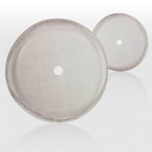 Stainless Steel French Press Replacement Filter Screen (2 pack)