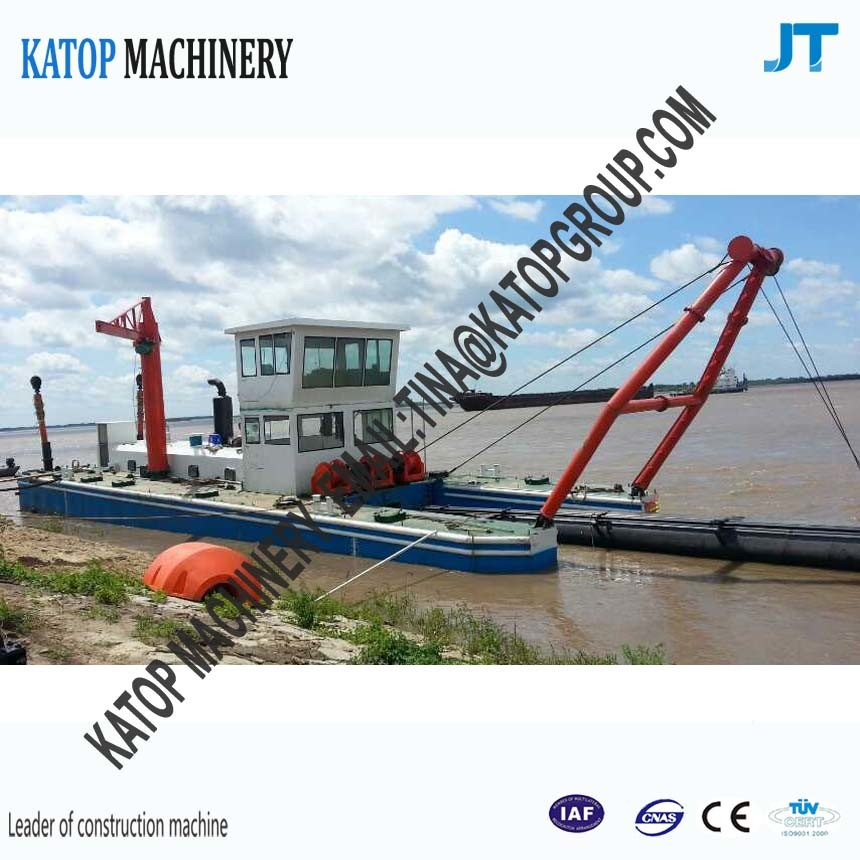 1500cbm Dredger Ship River Sand Dredger Ship