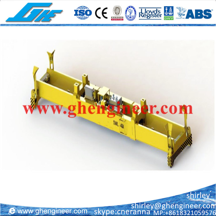 20FT 40FT Hydraulic Telescopic Self-Guide Container Spreader