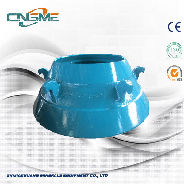 Mantle and Bowl Liner of Metso Cone Cusher Parts
