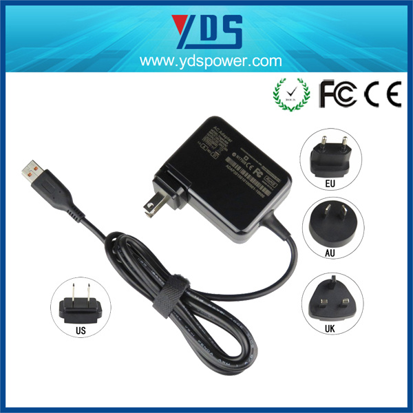 20V 3.25A Wall Mounted Power Adapter for Lenovo Yogo3