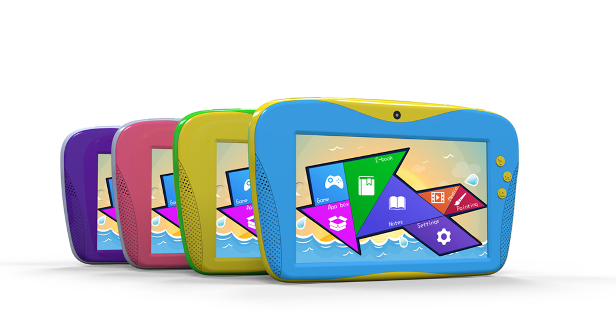 Perfect Design Children Tablet PC 7 Inch MID Dual Core Android 4.2