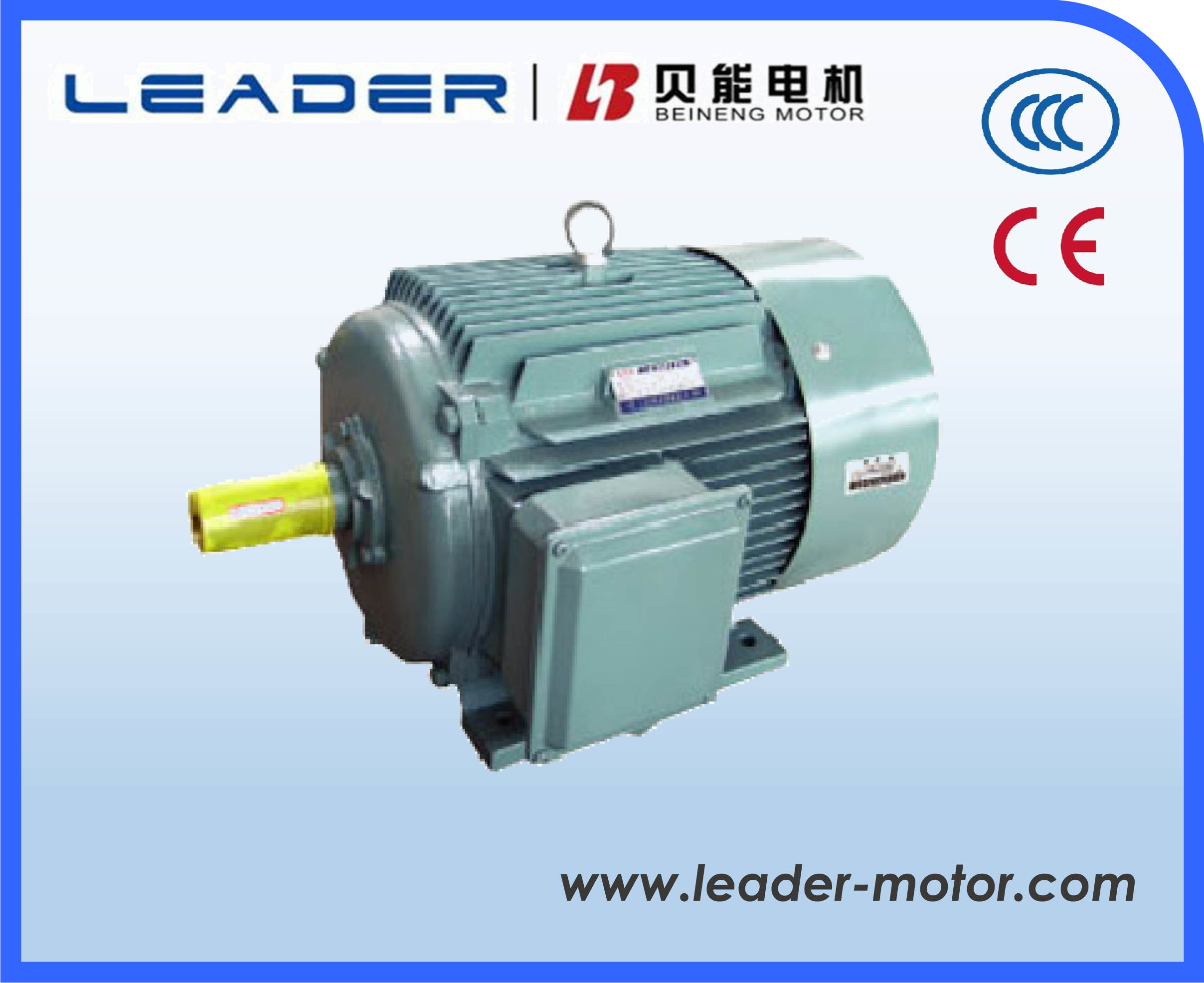 Yd2 Series Pole-Changing Multi-Speed Induction Electric Motors