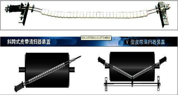 Good Quality 42 Inch Conveyor Belt Cleaner for Mining Industry