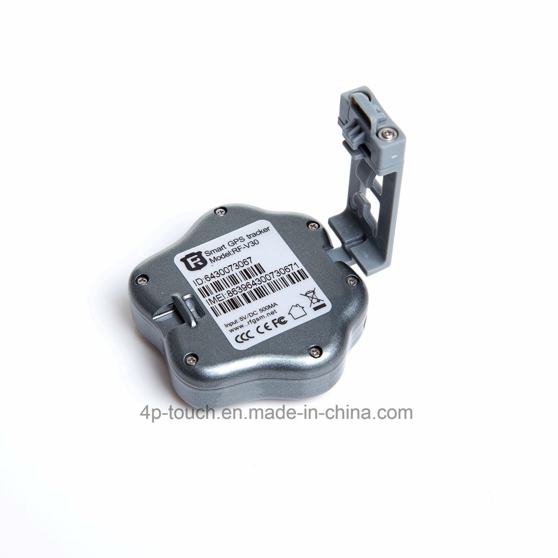 3G Mini IP66 Waterproof Pet GPS Tracker with Collar (V40)
