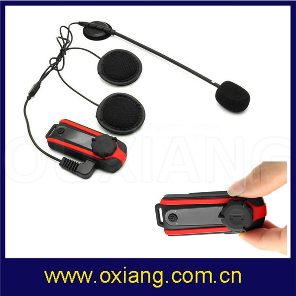 1000m Bluetooth Motorcycle Helmet Headset Headphone Intercom