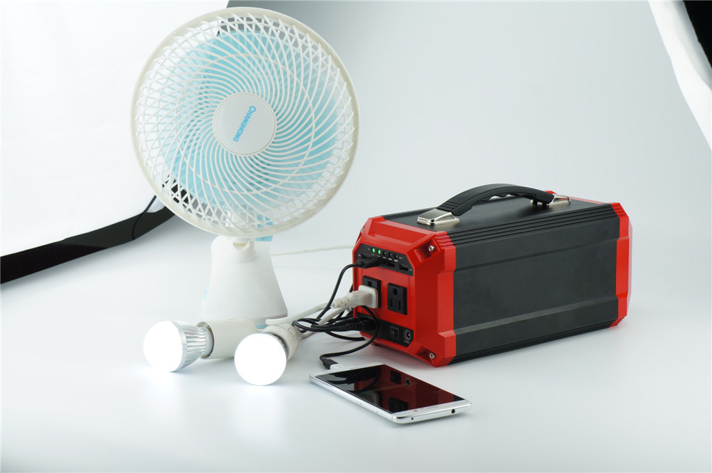 270wh Portable Mini Solar Power Generator with Solar Panel off-Grid System