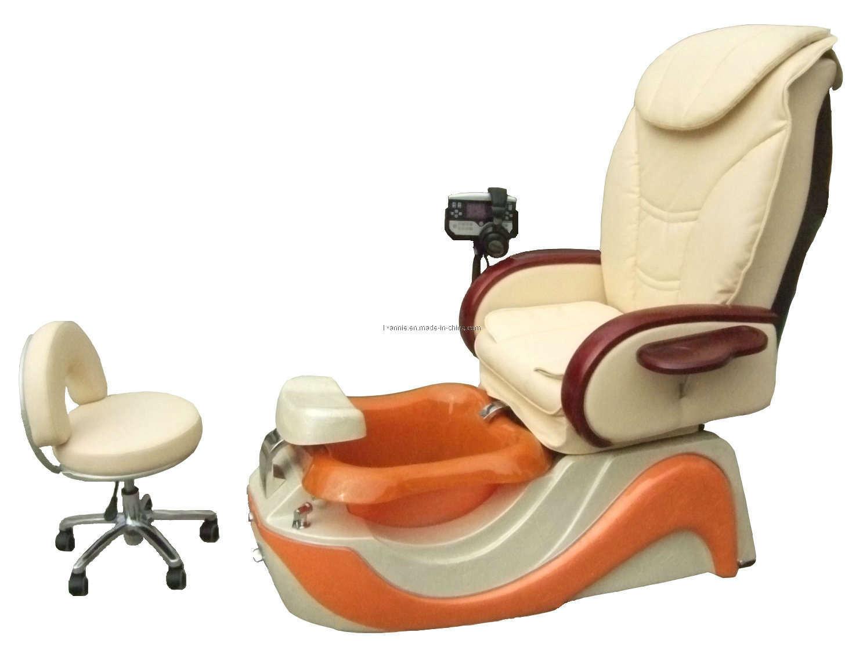 Silla modelo permanente del masaje del pie de pedicure del for Sillas para pedicure