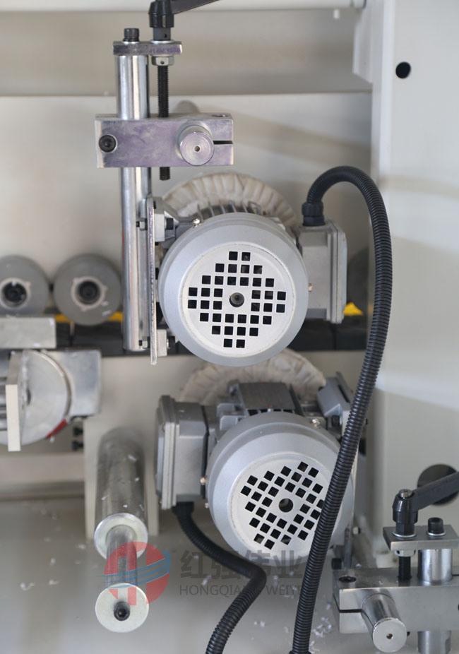Straight Line Semi Automatic Edge Banding Machine