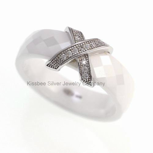 925 Sterling Silver Fashion Jewellery, Ceramic Jewellery Manufacture (R20008)