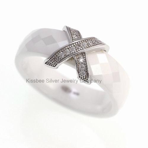 Fashion Jewellery Ceramic 925 Silver Jewellery Manufacture (R20008)