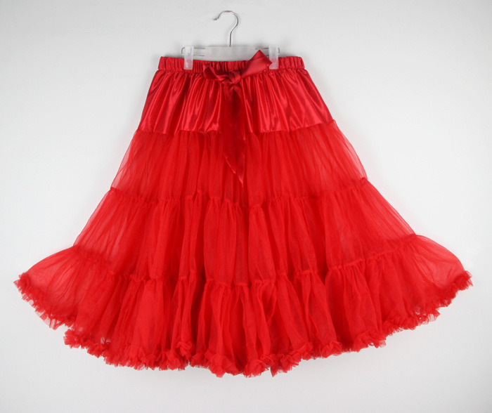 Expension Chiffon Adult Lacing Tutu Skirt