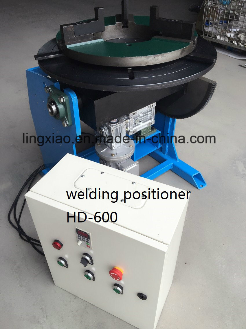 Ce Certified Welding Rotate Table HD-600 for Circular Welding