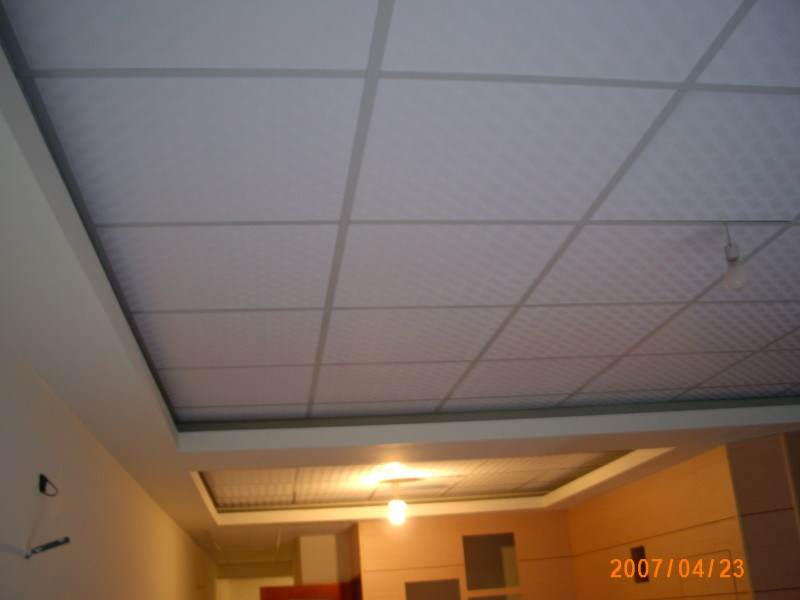 Gypsum Ceiling Board, Ceiling Tiles/PVC Ceiling Tile, PVC Plasterboard Ceiling, Gypsum Ceiling Panel, Prices From $0.88 Per Sqm